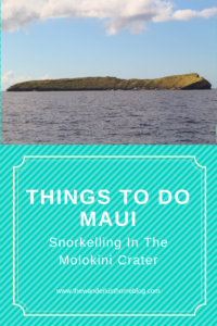 snorkelling molokini crater